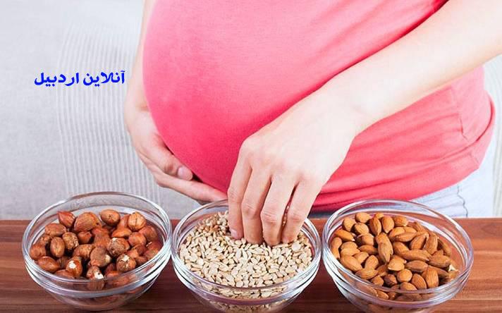 رژیم غذایی مناسب برای بانوان باردار